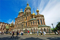 The Church Of The Savior On Spilled Blood Tour